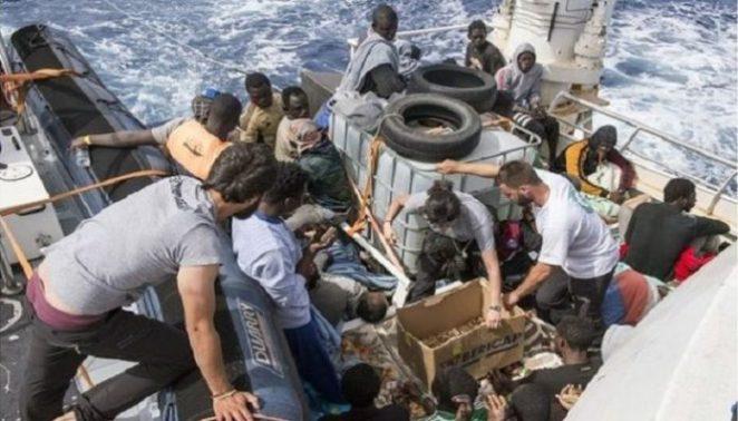 Mediterranean: 6000 migrants rescued 48 hours