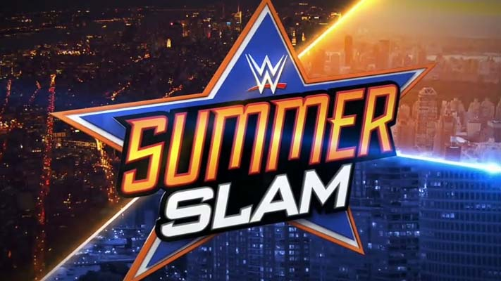 Wwe Summerslam 2017 Ppv Poster