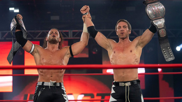 Motor City Machine Guns End The North's Historic Run With The Impact Tag  Team Titles