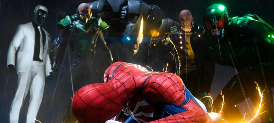 В ранней версии Spider-Man было больше битв с суперзлодеями