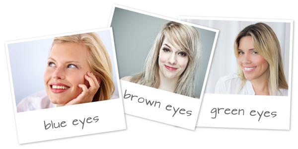 Machiaj ochi pentru ochi culori diferite
