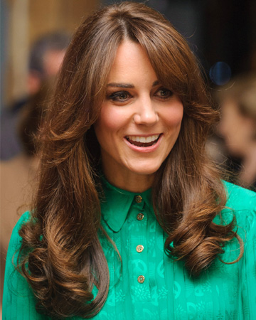 Kate Middleton gets bangs