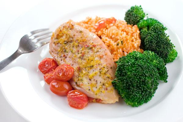 A delicious healthy meal