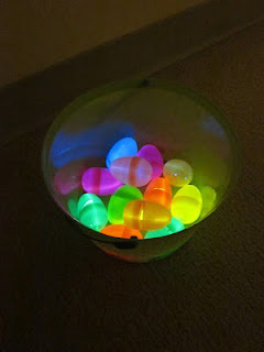 7. Glowing Easter Eggs
