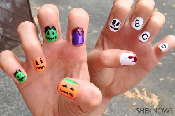 Halloween nail art   Sheknows.ca - final product