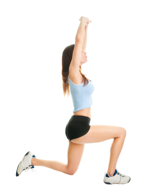 Woman doing lunges | Sheknows.ca