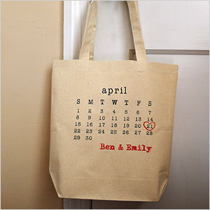 Wedding date totes | Sheknows.ca