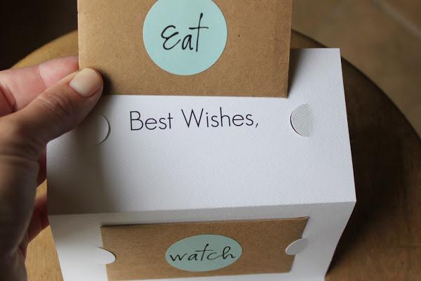 Eat, watch, enjoy
