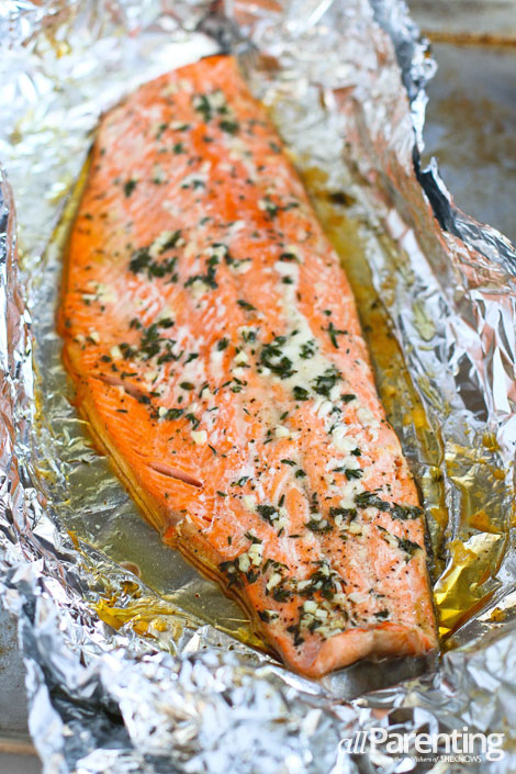 How long to cook salmon fillet in oven foil how to for How long to cook fish in the oven