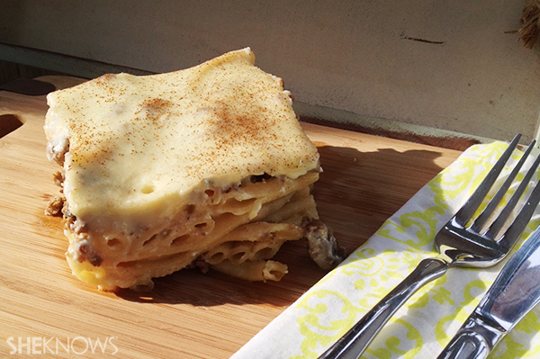 Pastitsio: Greek lasagna | Sheknows.ca