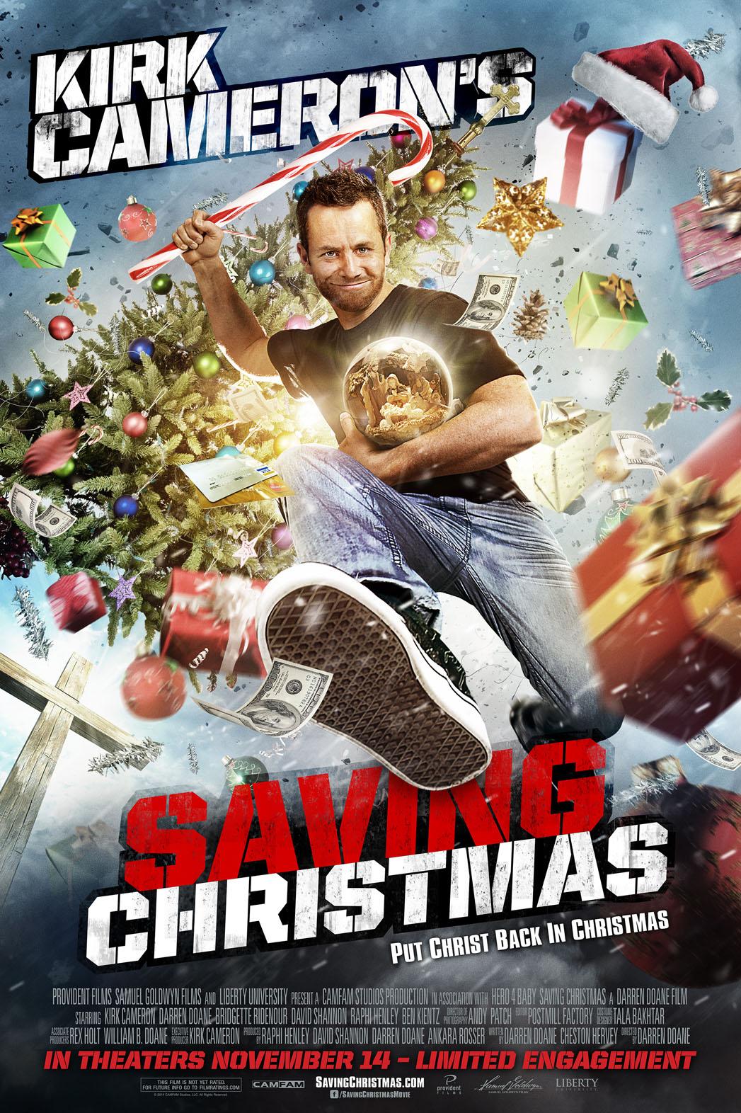 Kirk Cameron salvando o Natal