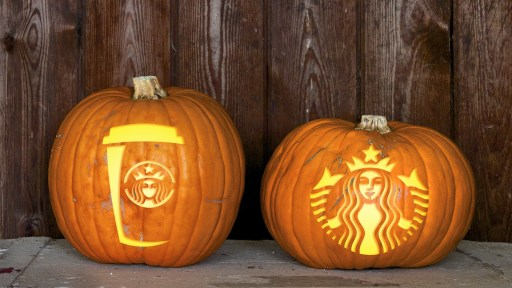 Starbucks Pumpkins