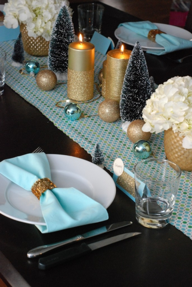 Christmas Table Decorations Make Home