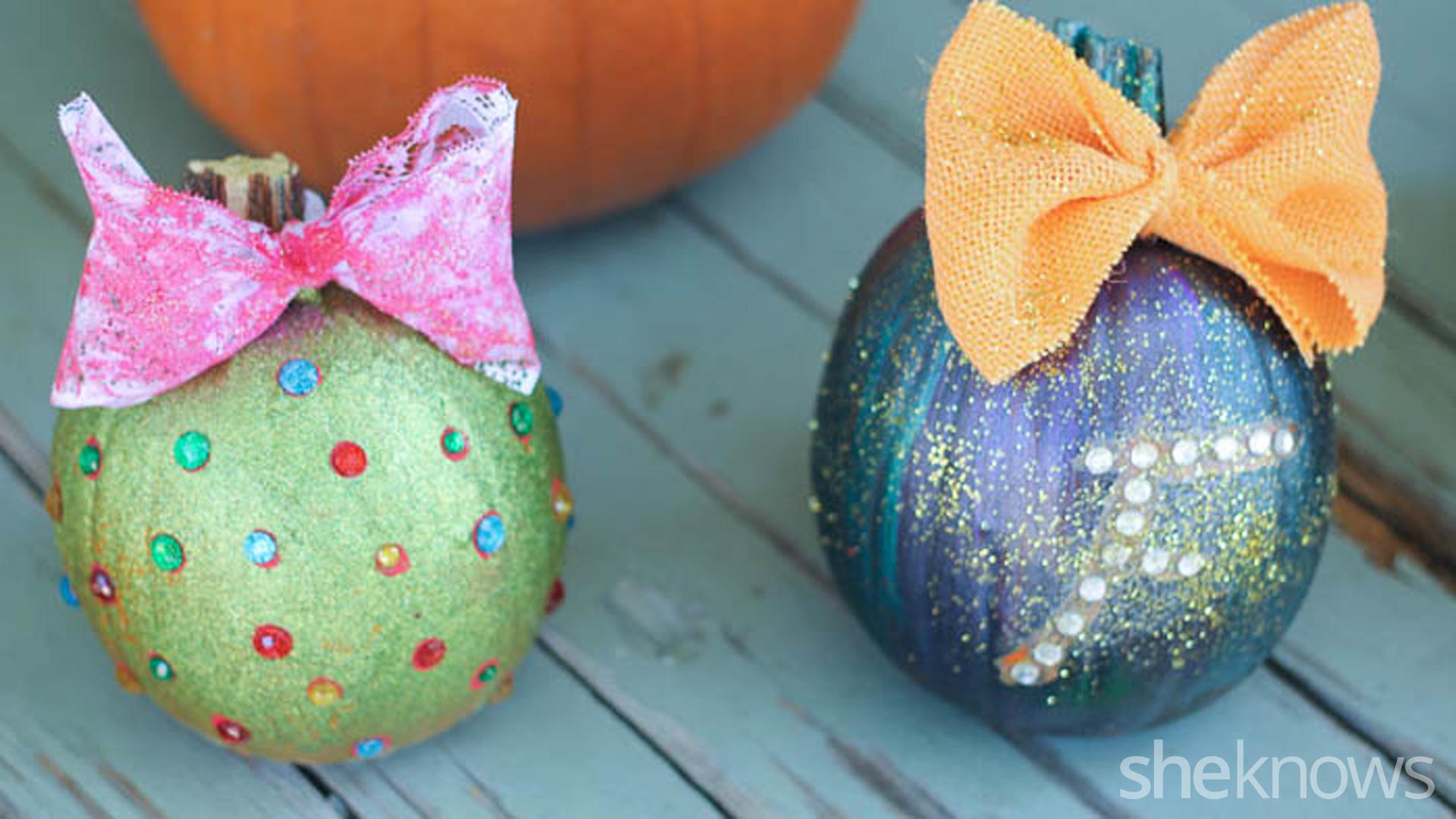 5 No Carve Pumpkin Decorating Ideas