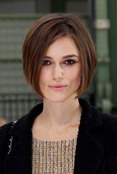 Keira Knightley Chanel Haircut