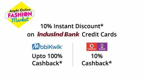 Shopclues Mobikwik Vodafone m-pesa cashback offer