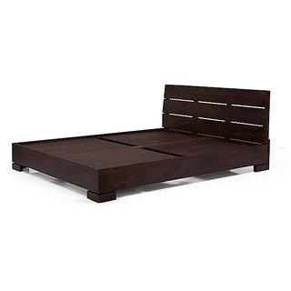 teakwood designer bed