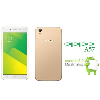 Oppo A57 Smart Phone 5.2Inch 13MP 1080p 3GB RAM 2900mAh