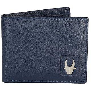 WildHorn Blue Mens Wallet (WHM101L)