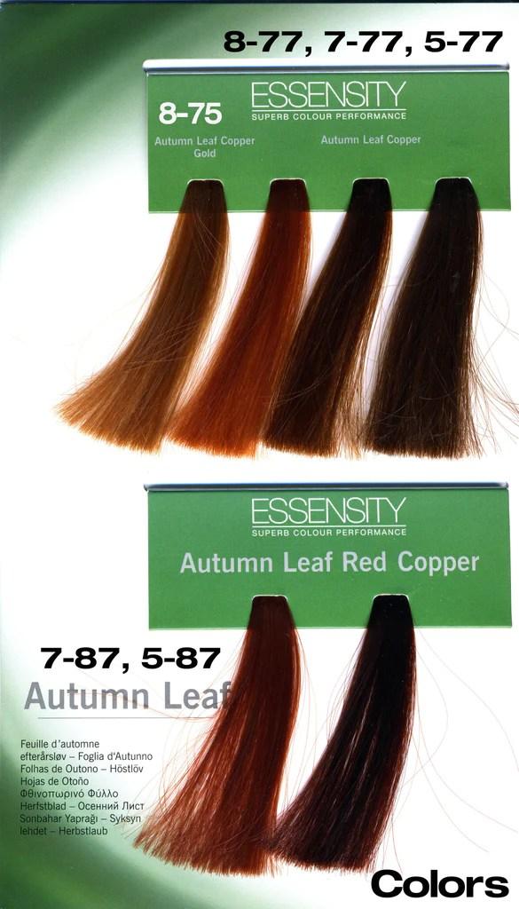 Schwarzkopf Essensity Hair Color Chart Hairstly