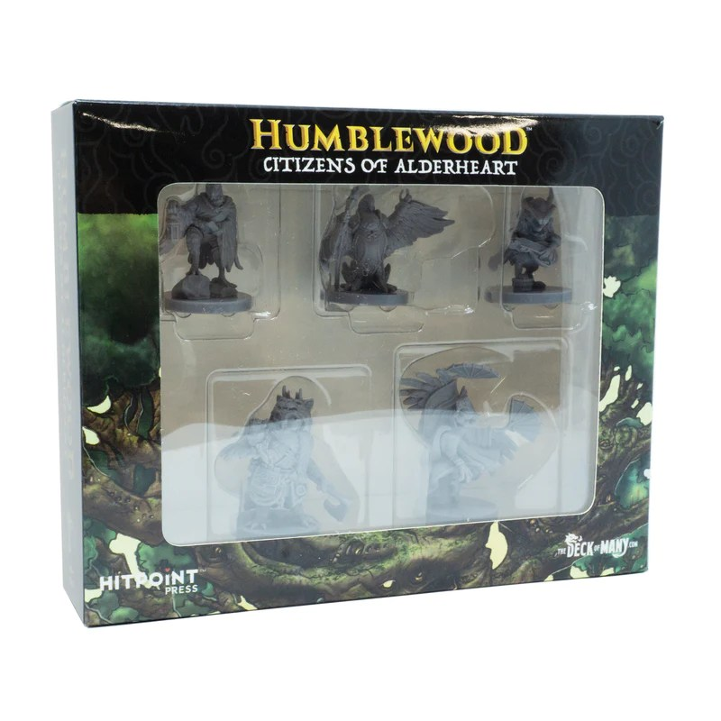 Humblewood Minis: Citizens of Alderheart