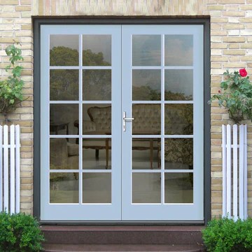 made to order exterior 10 pane door pair fit your own glass