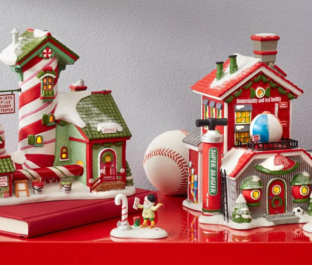 Inspired By The Magical Legend Of Santas North Pole Workshop Our North Pole Village Buildings Characters And Accessories Bring Christmas Dreams To Life