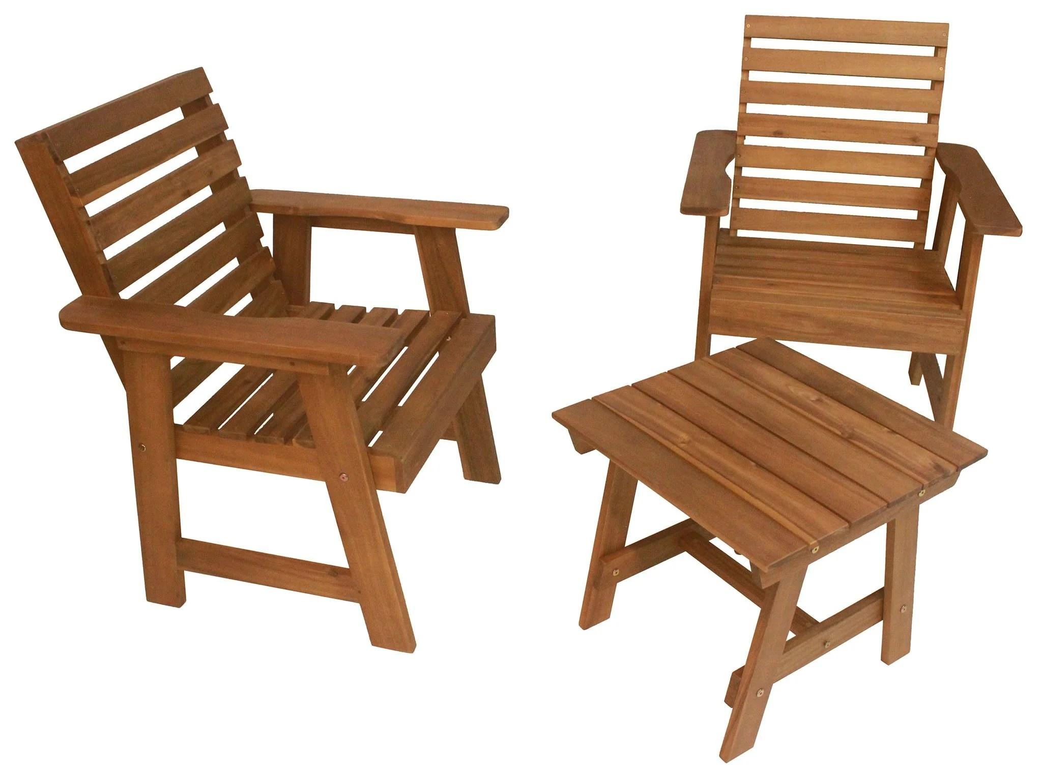 sequoia rustic patio set