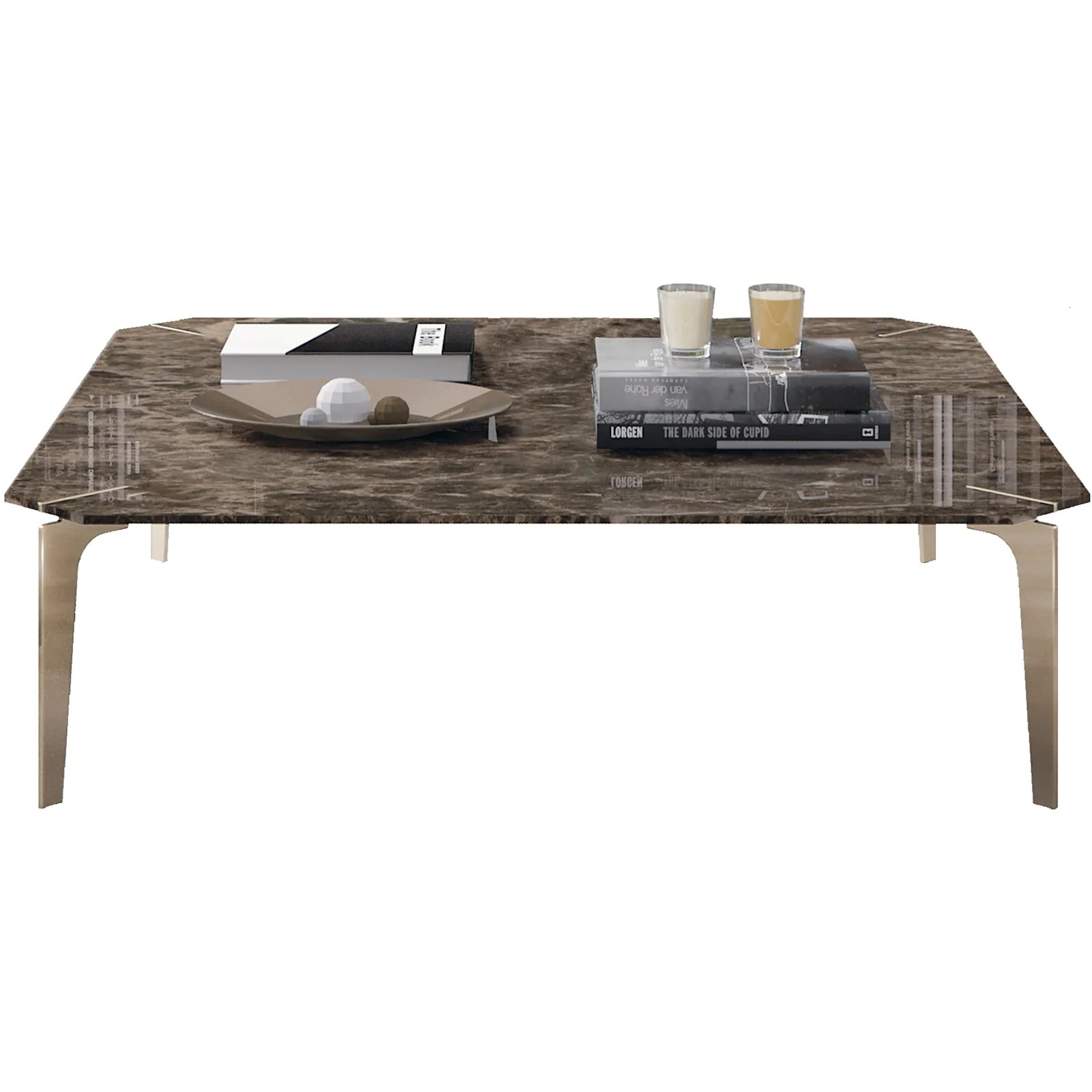 eclectic square coffee table