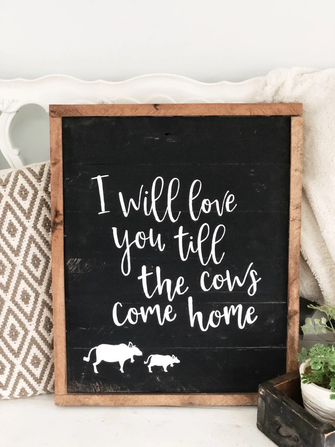 Download I will love you till the cows come home - Honeysuckle Shop