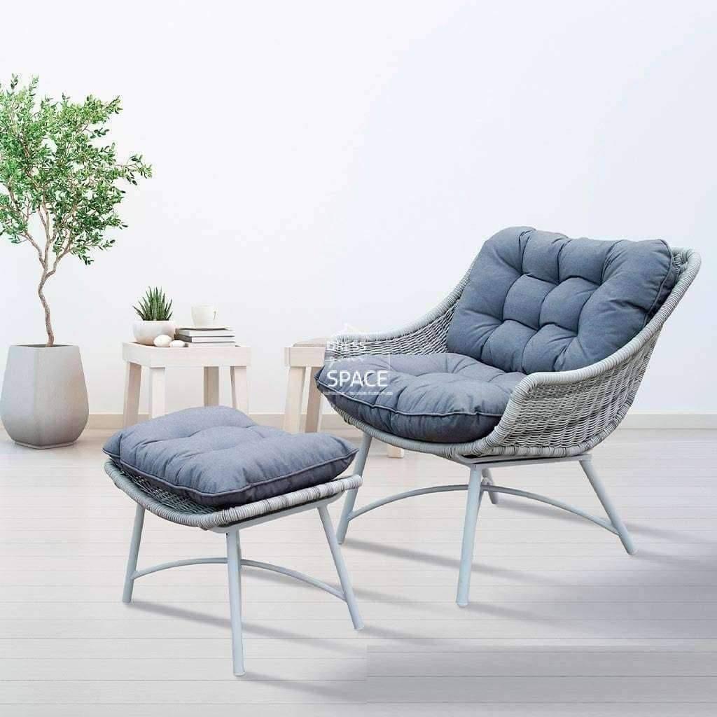 malmo chair and ottoman