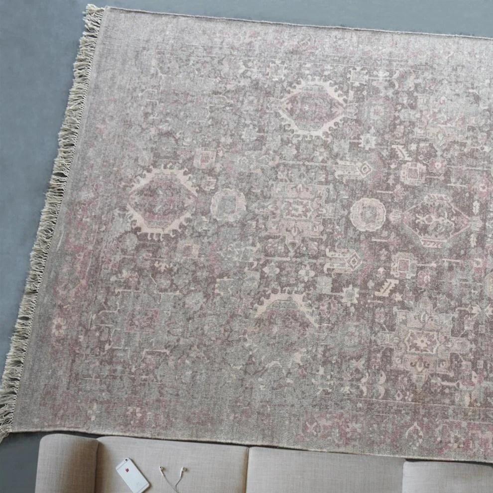 Vikram Distressed Modern Persian Rug