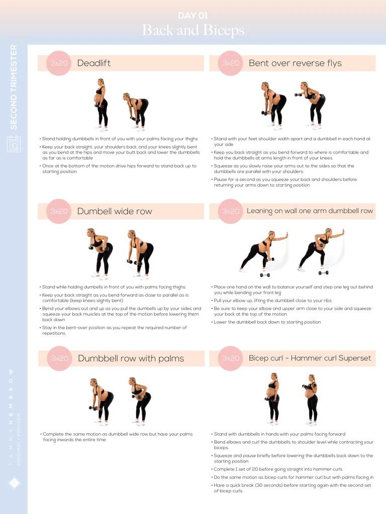 Pregnancy Program Tammy Hembrow Fitness