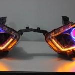 2013 2016 Dodge Dart Pre Built Halo Headlights Lightingtrendz