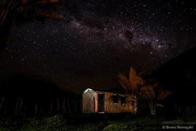 imagem céu estrelado chapada diamantina por bruno nonogaki