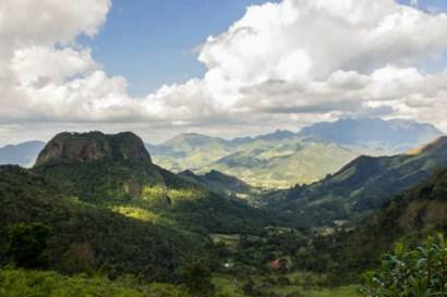 imagem das montanhas de nova friburgo