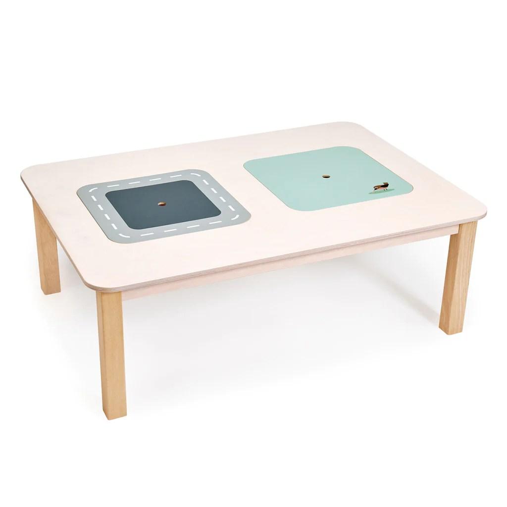 tender leaf toys wooden forest play table furniture threadbeardesign