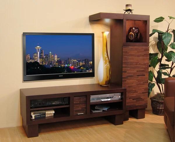 Modern Entertainment Center Woodwaves