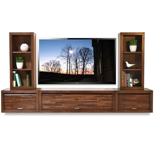 Floating Entertainment Center Wall Mount TV Stand ECO