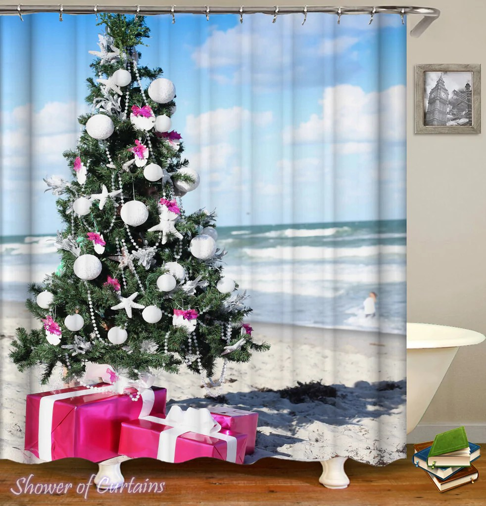Beach Shower Curtain Collection Shower Of Curtains