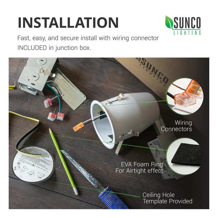 recessed lighting can 4 inch remodel
