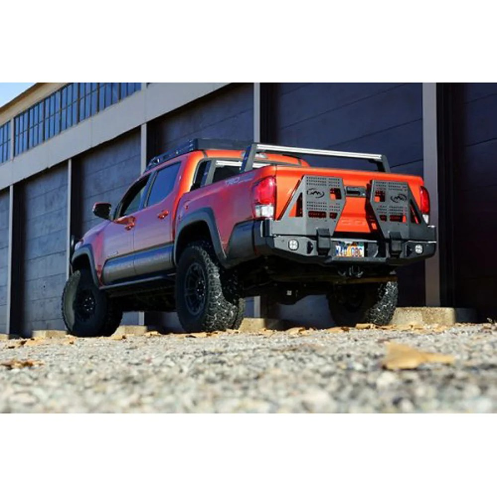 expedition one 3rd gen tacoma dual swing rear bumper