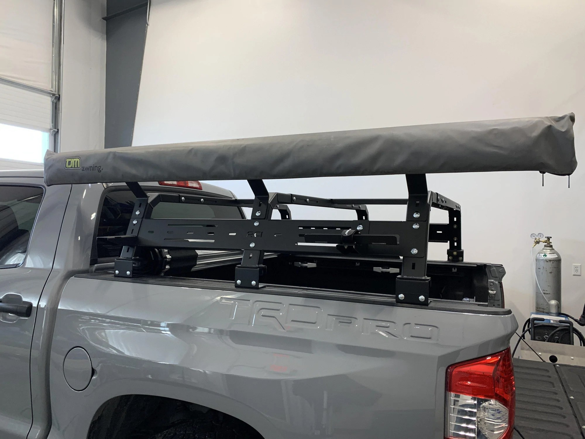 rci offroad bed rack awning mount