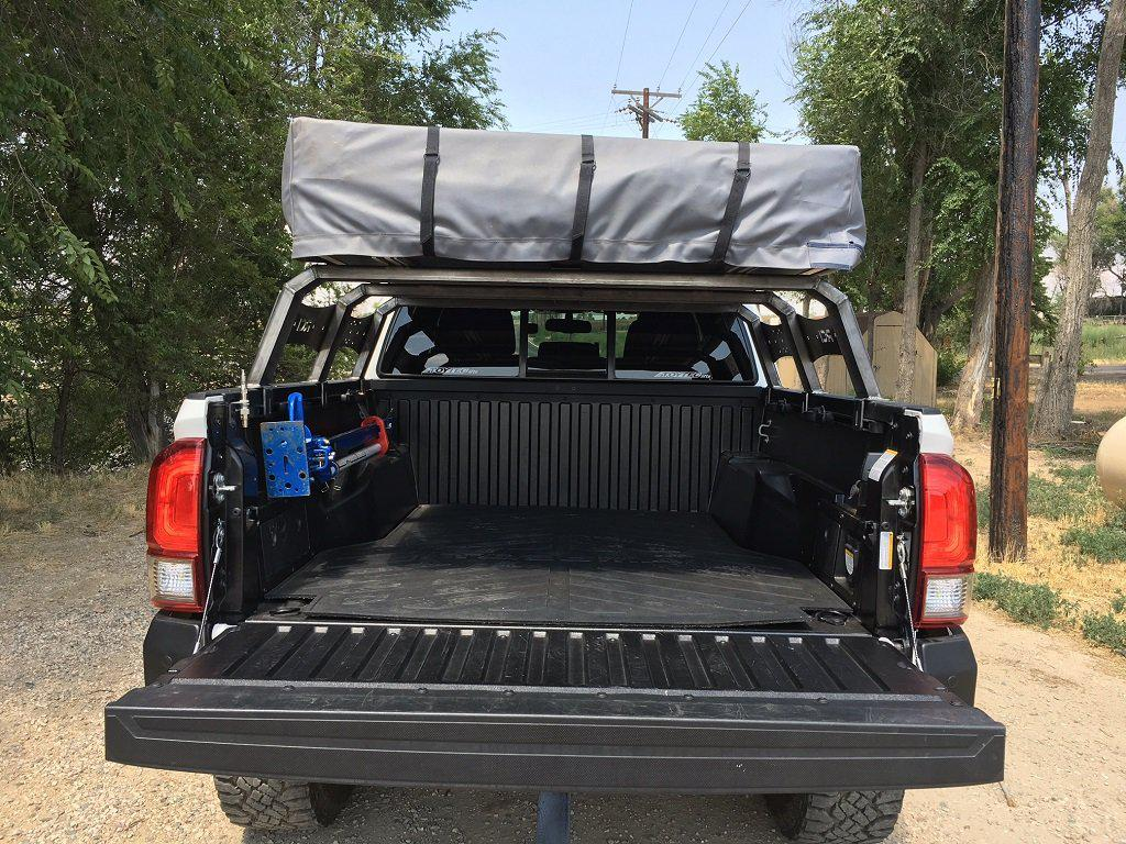 rci offroad bed rack toyota tacoma 2016 2021