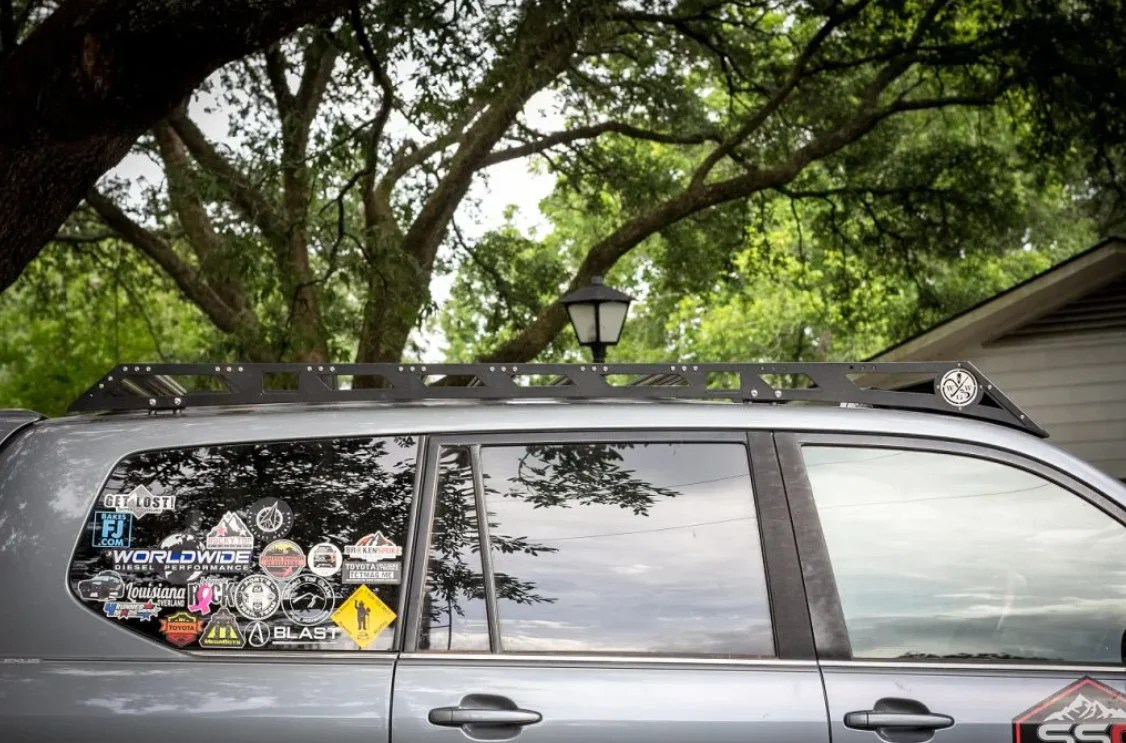 southern style offroad roof rack lexus gx470 2003 2009