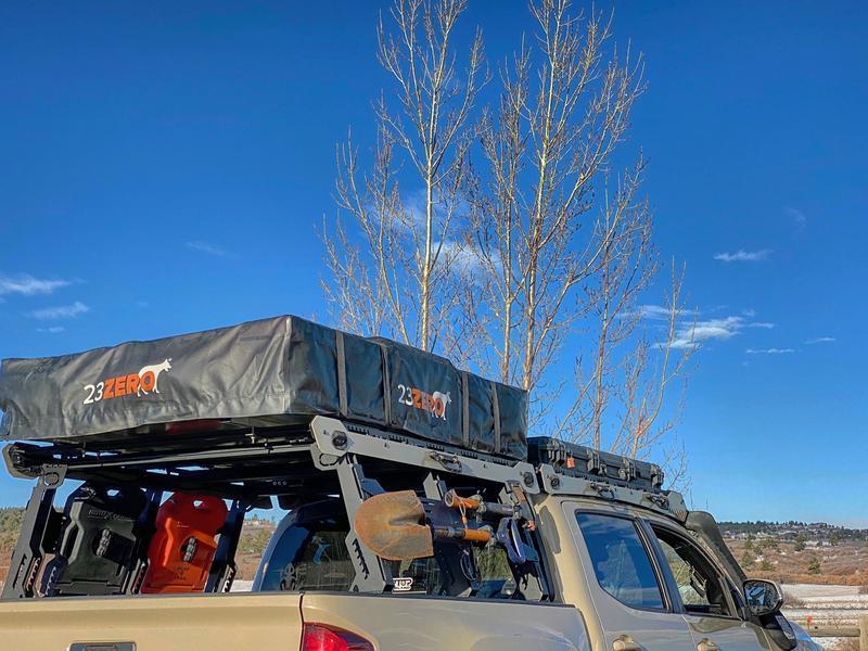 uptop overland alpha ex cap rack toyota tacoma 2005 2021