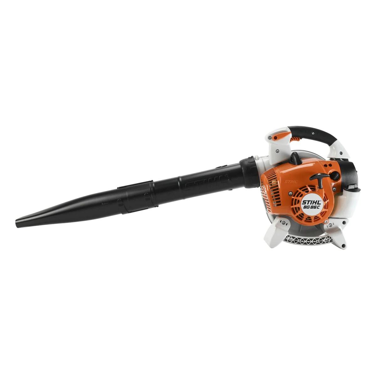 Stihl BG86C-E Petrol Leaf Blower — GYC Mower Depot