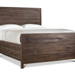 Redondo Pier Low Profile Bed Modern Solid Wood Beds Apt2b