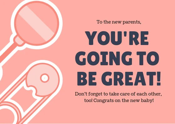 Great Parents Baby Wishes