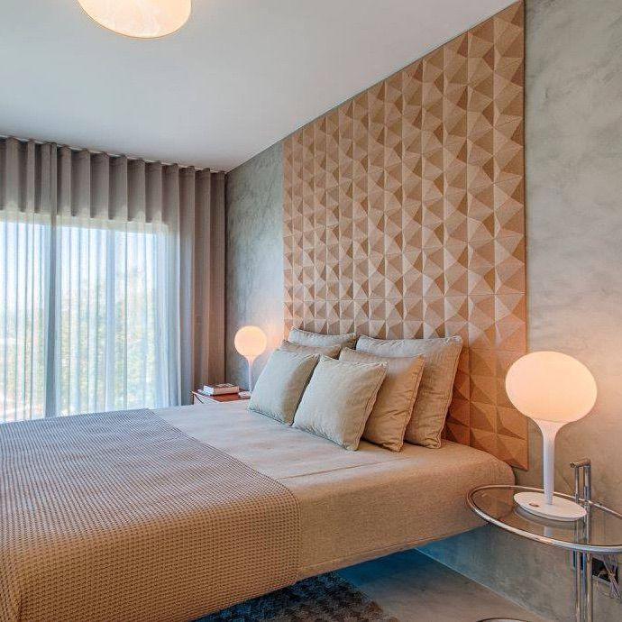 muratto peak pattern luxury cork wall panels